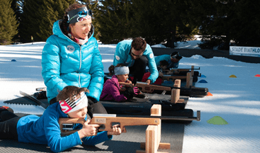 Initiation biathlon Glières